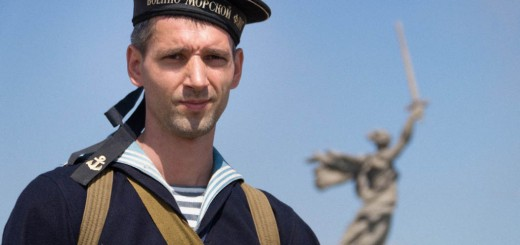 Бравый боец военно-морского флота