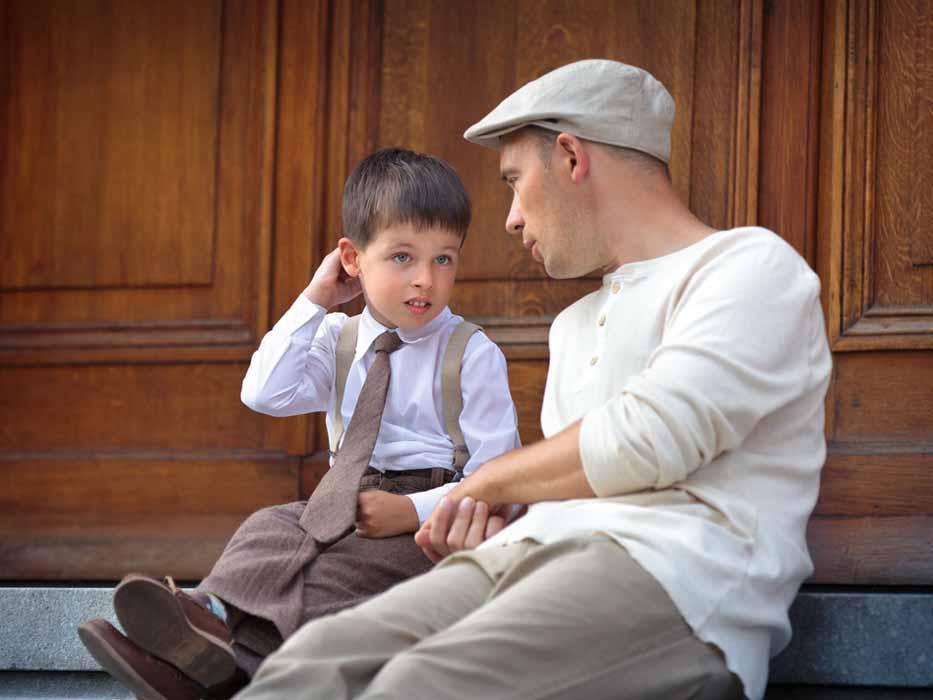 Роль папы в воспитании сына