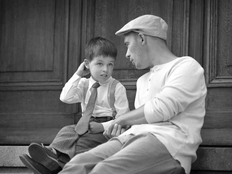 Роль папы в воспитании сына4