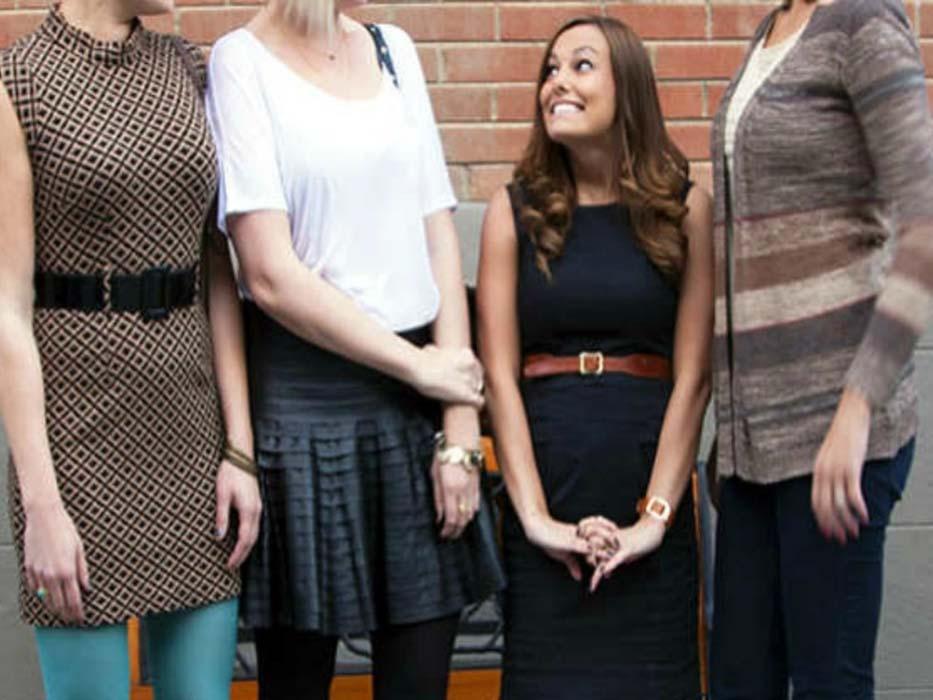 Как одеваться невысоким девушкам6